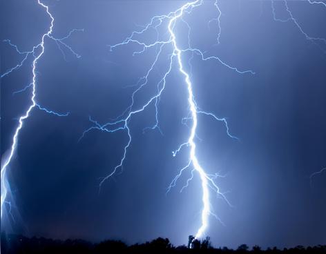 Bild Gefährdung durch Blitzeinschlag