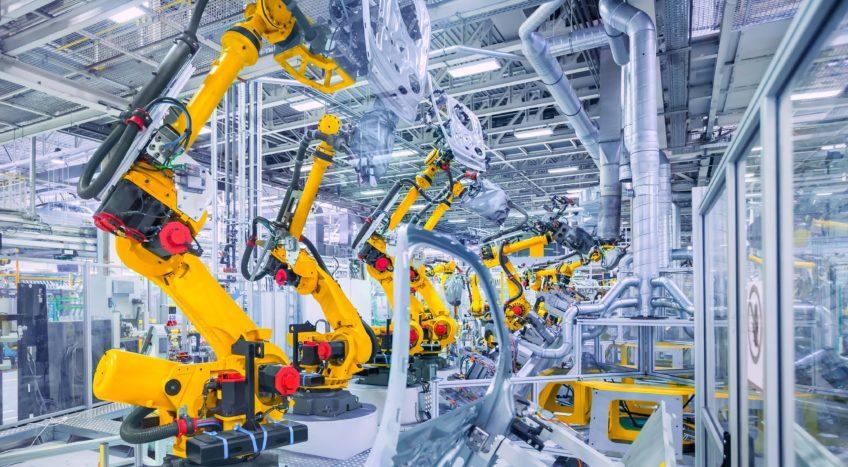 Bild industrielle Maschinen